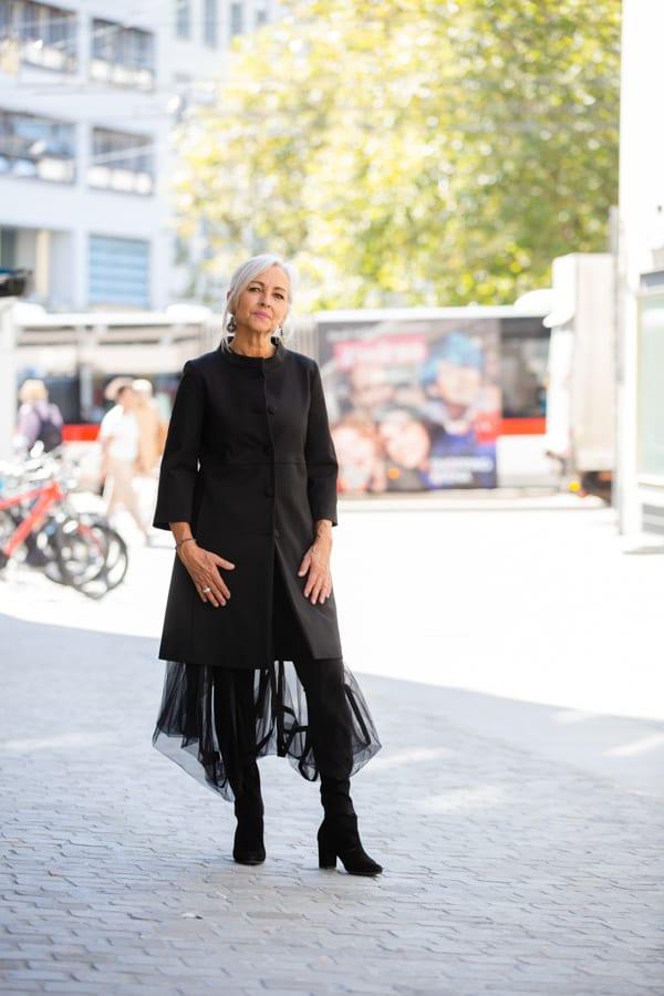 Annette Görtz I Mantel von VIEW Kollektion 2020